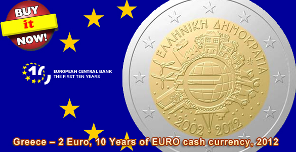 2 Euro CC Greece 2012