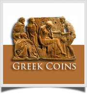 greek coins - ancient greek coins