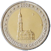 germany 2 euro 2008