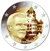 luxembourg 2 euro 2008